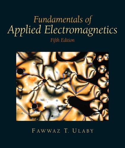 9780132371384: Fundamentals of Applied Electromagnetics 2008: Mediia Edition