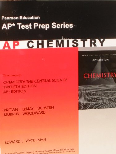 9780132372206: Chemistry: The Central Science 12th ed. AP ed. Test Prep Series (AP Test Prep Series) Paperback – January 1, 2012