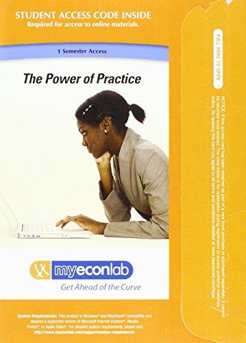 9780132372787: MyEconLab with Pearson eText -- Access Card -- for Microeconomics