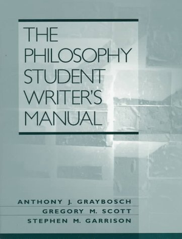 9780132373715: Philosophy Student Writer's Manual, The