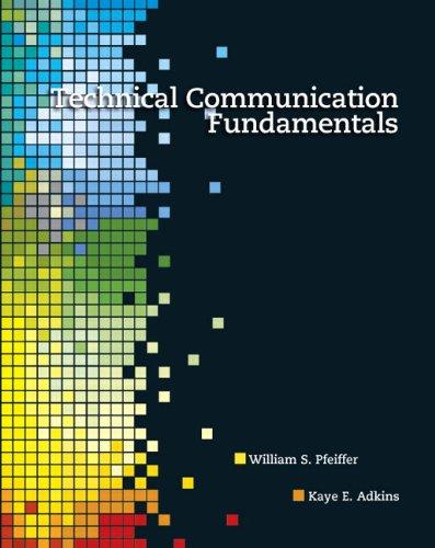 9780132374576: Technical Communication Fundamentals