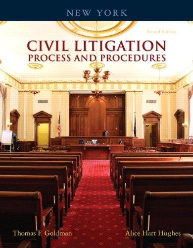 9780132374590: New York Civil Litigation: Process and Procedures