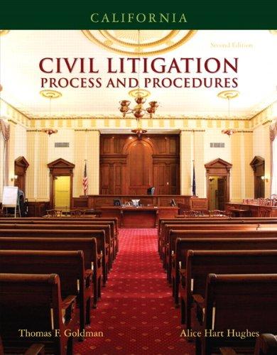 9780132374637: California Civil Litigation (2nd Edition)