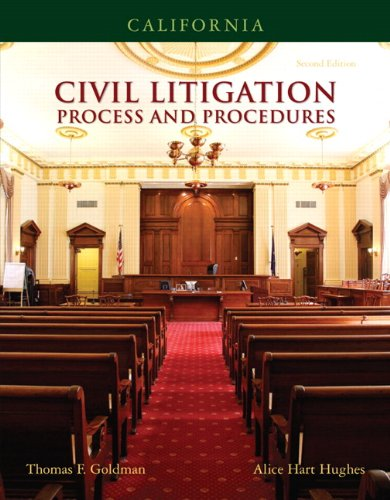9780132374637: California Civil Litigation (2nd Edition)