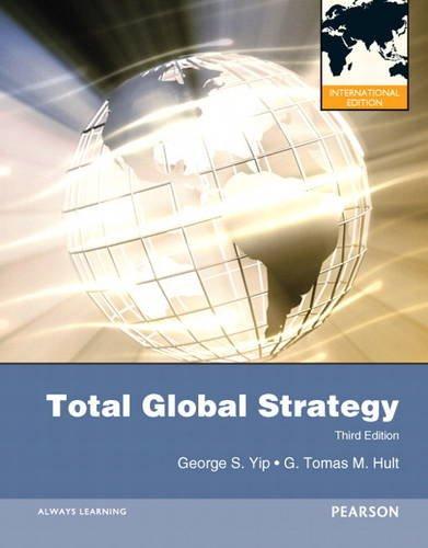 9780132374729: Total Global Strategy
