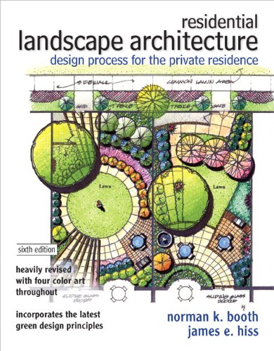 9780132376198: Residential Landscape Architecture: Design Process for the Private Residence (6th Edition)