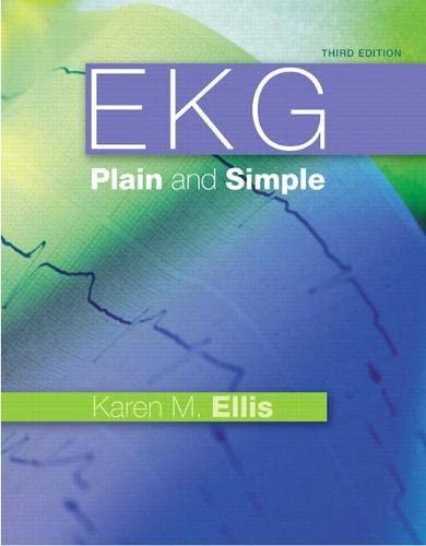 9780132377294: EKG Plain and Simple: (3rd Edition)