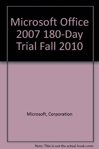9780132377331: Microsoft Office 2007 180-day trial Fall 2010 (8th Edition)