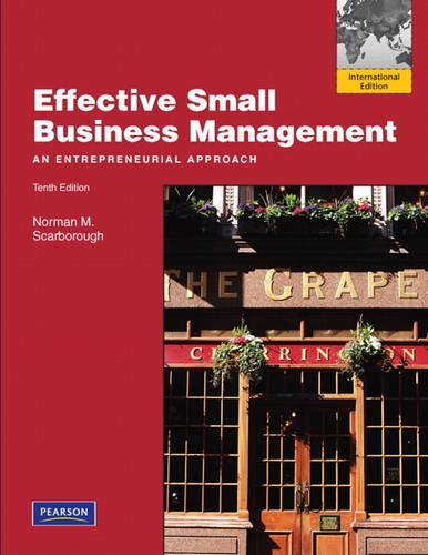 9780132378154: Effective Small Business Management