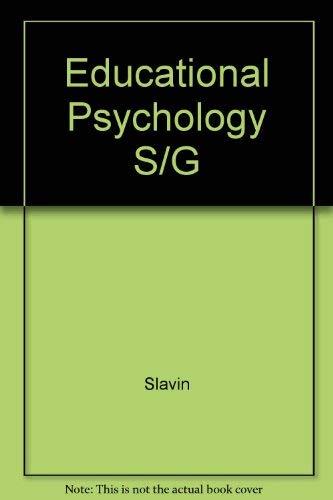 9780132378277: Educational Psychology S/G