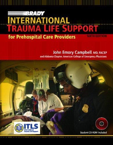 9780132379823: Brady International Trauma Life Support for Prehospital Care Providers