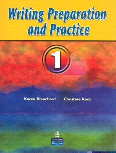 9780132380027: Writing Preparation and Practice 1 (Bk. 1)