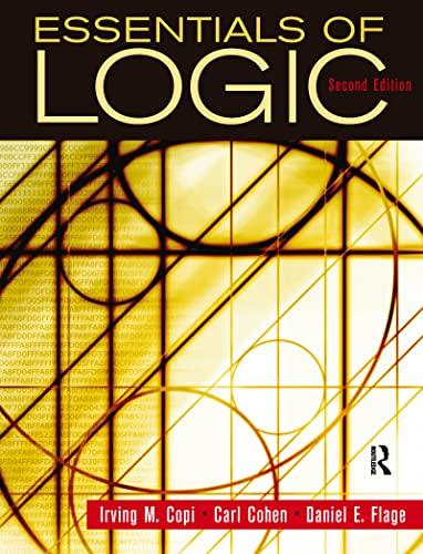 9780132380348: Essentials of Logic