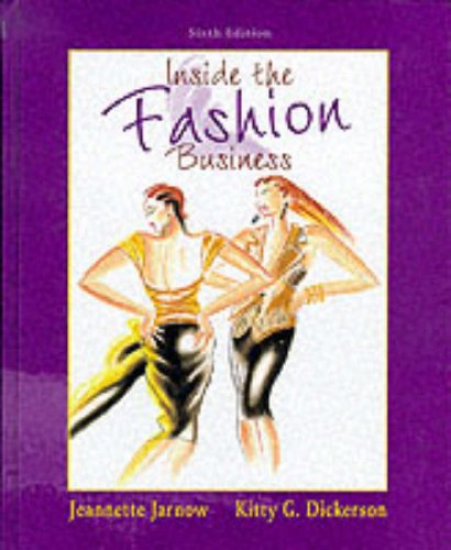 9780132381482: Inside the Fashion Business (6th Edition)