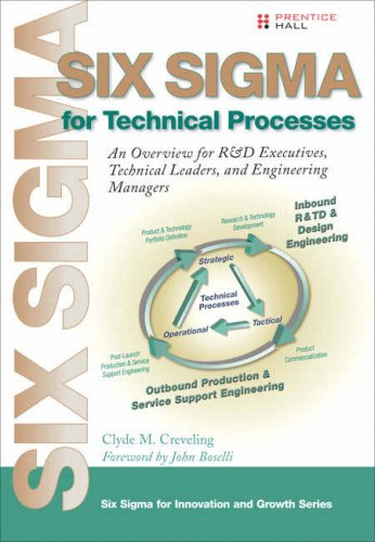 9780132382328: Six Sigma for Technical Processes: An Overview for R&D Executives, Technical Leaders, and Engineering Managers