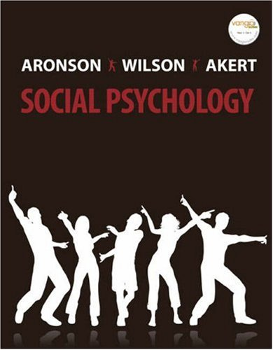 9780132382458: Social Psychology (6th Edition)