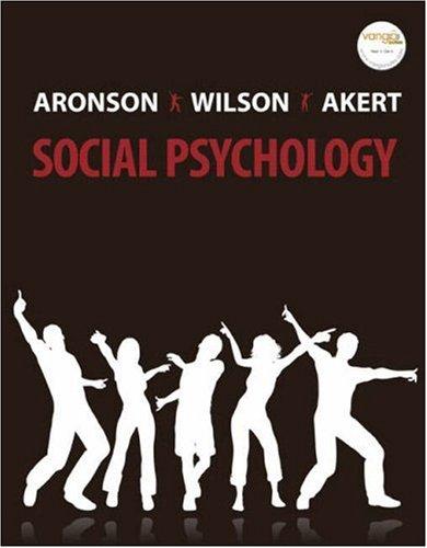 9780132382458: Social Psychology