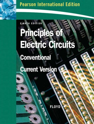 9780132383516: Principles of Electric Circuits: Conventional Current Version