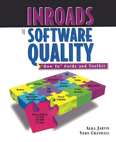 Inroads to Software Quality:How to Guide and: Crandall, Vern