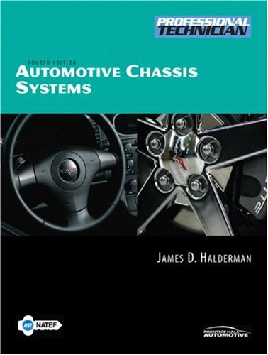 9780132384872: Automotive Chassis Systems (4th Edition)