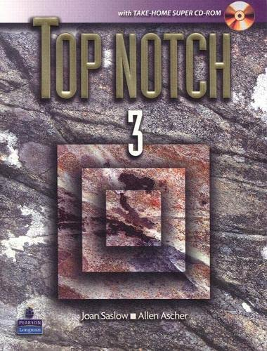 9780132386241: Top Notch 3 with Take-Home Super CD-ROM