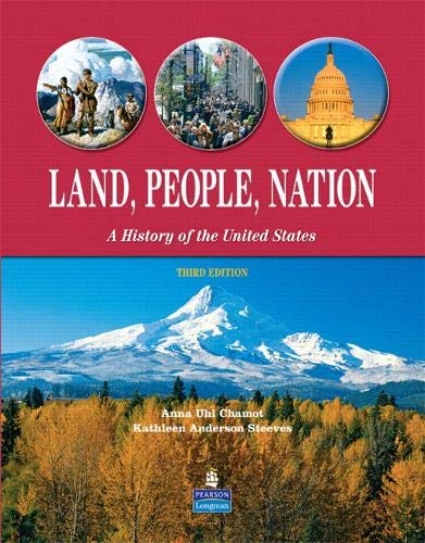 9780132386388: LAND, PEOPLE NATION 3RD EDITION STUDENT BOOK
