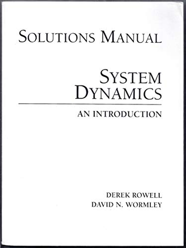 9780132386500: Sm Intro System Dynamics S/M