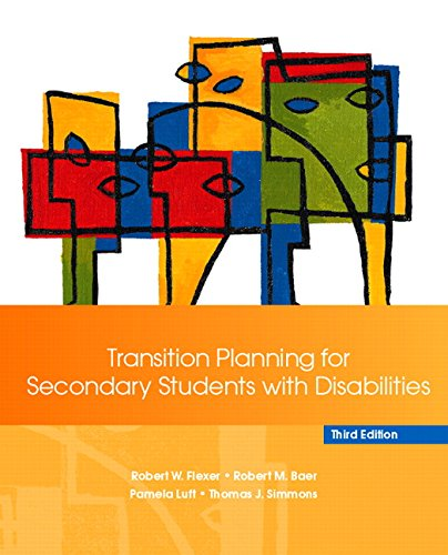 9780132387637: Transition Planning for Secondary Students with Disabilities (3rd Edition)
