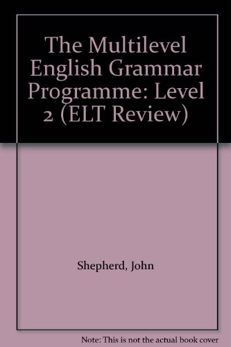 9780132387675: The Multilevel English Grammar Programme: Level 2 (ELT Review)