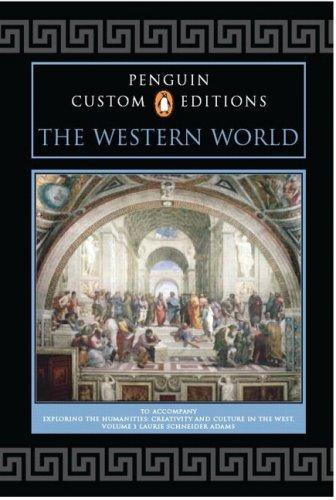 9780132388290: Penguin Custom Editions, The Western World, Volume I, for Exploring the Humanities, Volume 1: Penguin Custom Editions v. 1