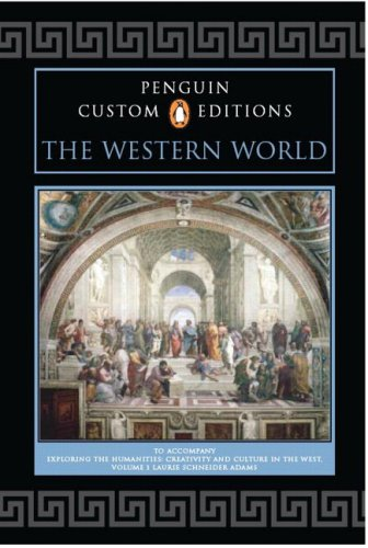 9780132388290: Penguin Custom Editions, The Western World, Volume I, for Exploring the Humanities, Volume 1
