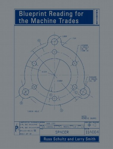 9780132388306: Blueprint Reading for the Machine Trades: 6th Edition