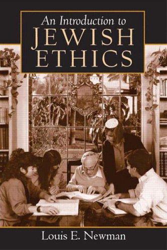 9780132388900: Introduction to Jewish Ethics