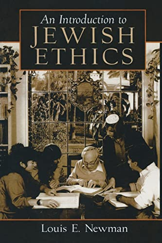 9780132388900: Introduction to Jewish Ethics