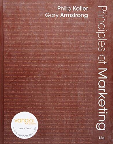 9780132390026: Principles of Marketing, 12th Edition