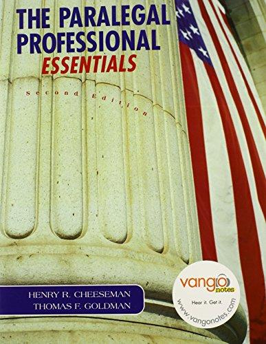 9780132390835: Paralegal Professional: Essentials