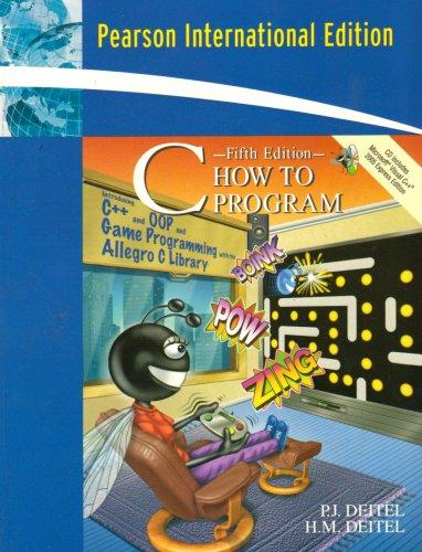 9780132393003: C How to Program: International Version