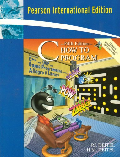 9780132393003: C How to Program: International Version