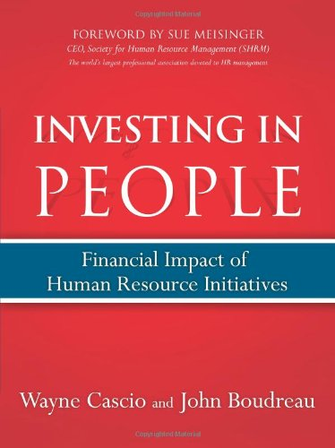 9780132394116: Investing in People: Financial Impact of Human Resource Initiatives