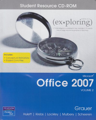 9780132394413: Exploring Microsoft Office 2007 Comprehensive Student CD