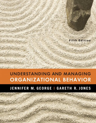 9780132394574: Understanding and Managing Organizational Behavior (5th Edition)