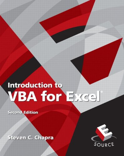 9780132396677: Introduction to VBA for Excel (2nd Edition)
