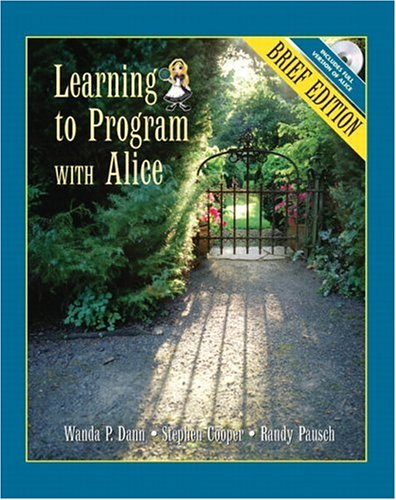 9780132397759: Learning to Program with Alice, Brief Edition