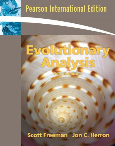 9780132397896: Evolutionary Analysis