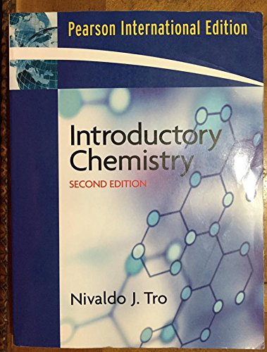 9780132401968: Introductory Chemistry Pearson International Edition