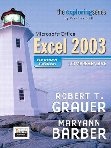 9780132402002: Exploring Microsoft Office Exc