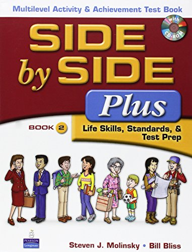 9780132402163: Side by Side Plus 2: Multilevel Activity & Achievement Test Book