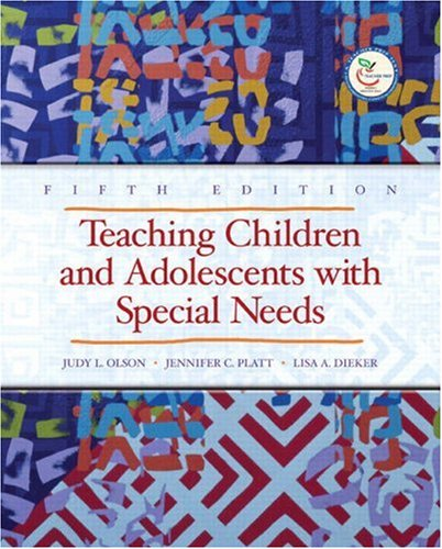 9780132402859: Teaching Children and Adolescents with Special Needs (5th Edition)