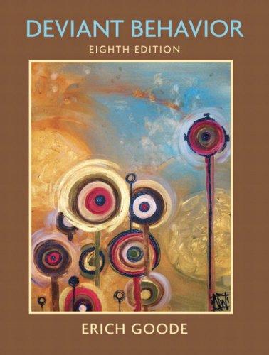 9780132403665: Deviant Behavior (8th Edition)