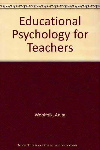 9780132404655: Educational Psychology for Teachers